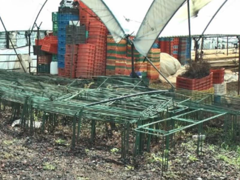 Pese a denuncias, continúan robos de infraestructura agrícola