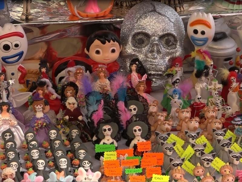 Pese a escenario incierto; arranca Feria del Alfeñique en León