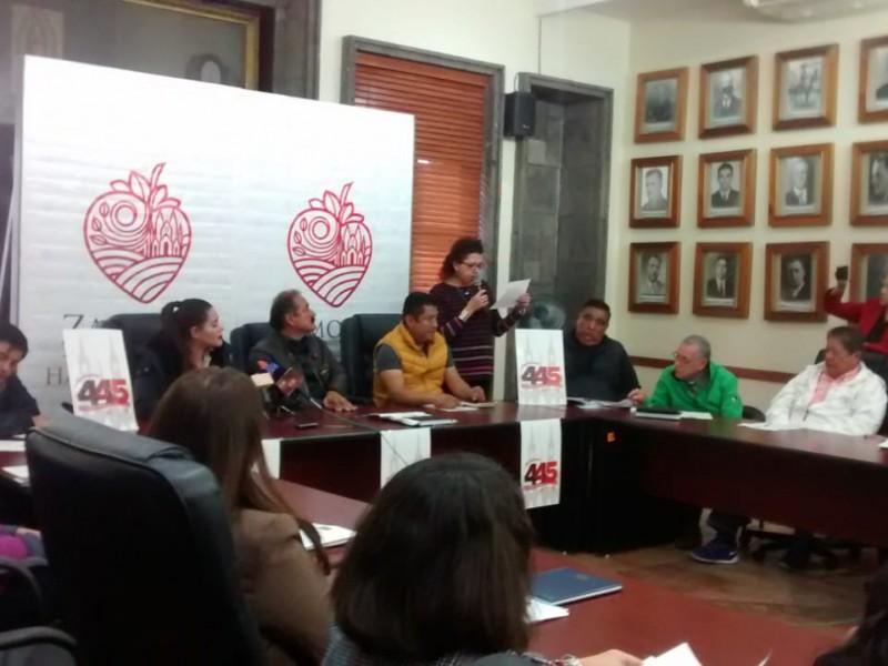 Pese a indicadores delictivos, festejarán aniversario de Zamora