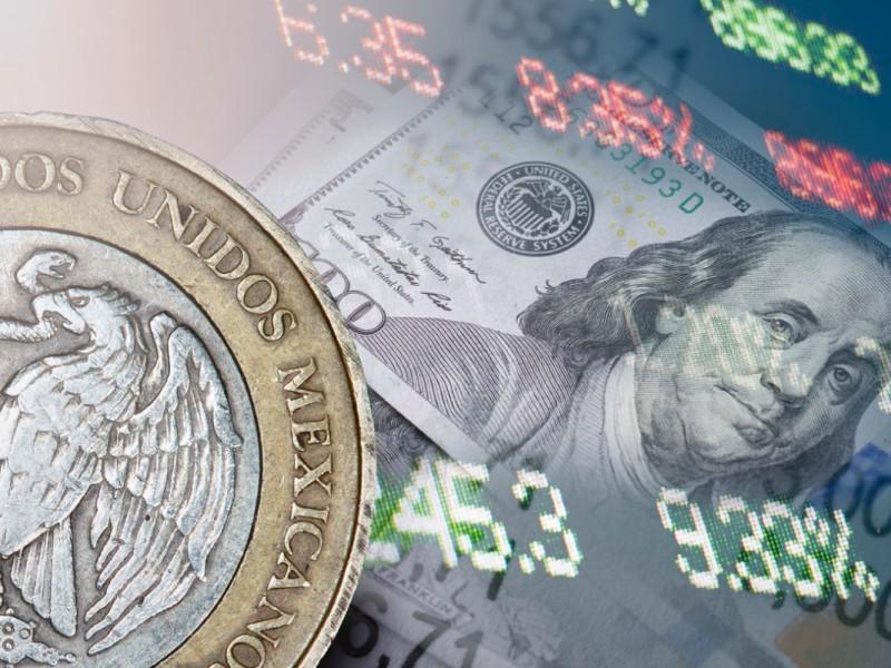 Peso se recupera ligeramente frente al dólar