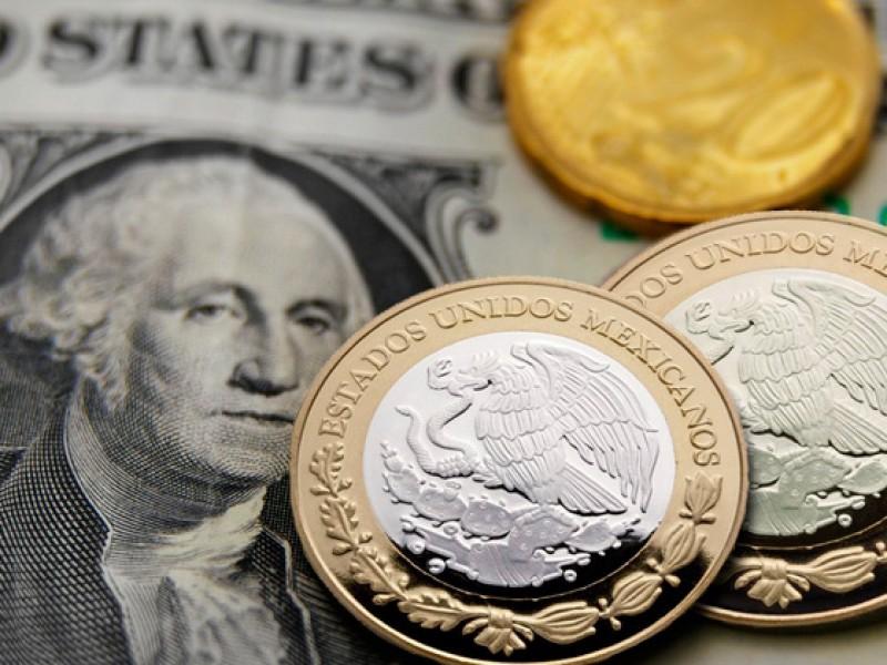 Peso toma ventaja ante dólar