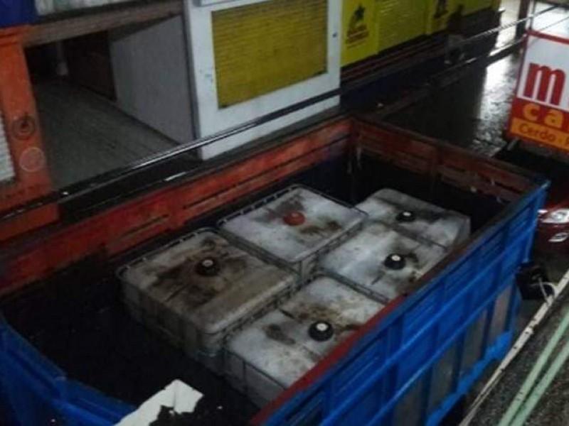 PGR asegura hidrocarburos en Chiapas
