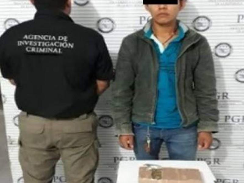 PGR detiene a presunto traficante