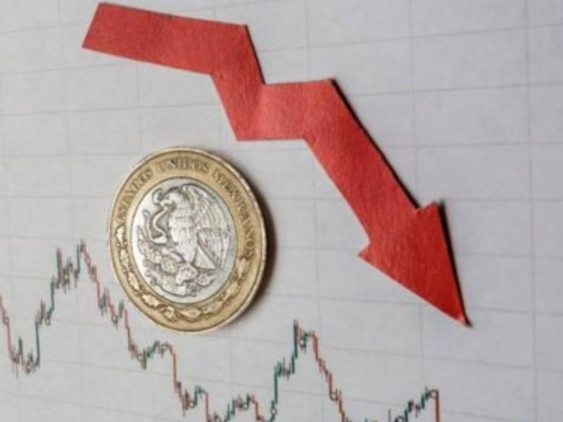 PIB mexicano cae 1.6%, la economía se contrae 2.6%