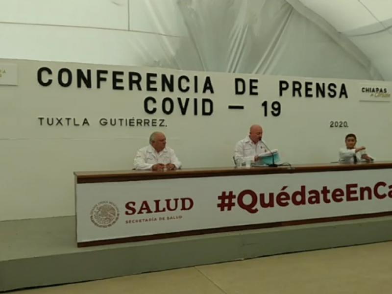 Pico máximo de COVID-19 se desconoce en Chiapas