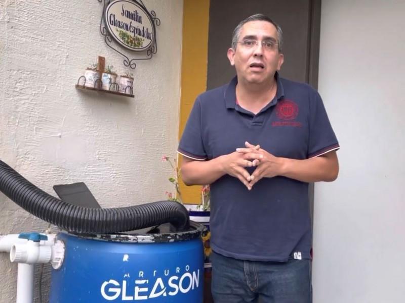 Pide Arturo Gleason trabajar en equipo para captar lluvia