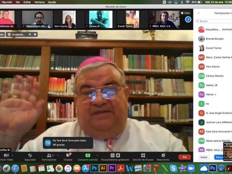 Pide arzobispo a políticos no realizar campañas ante riesgo deCovid19