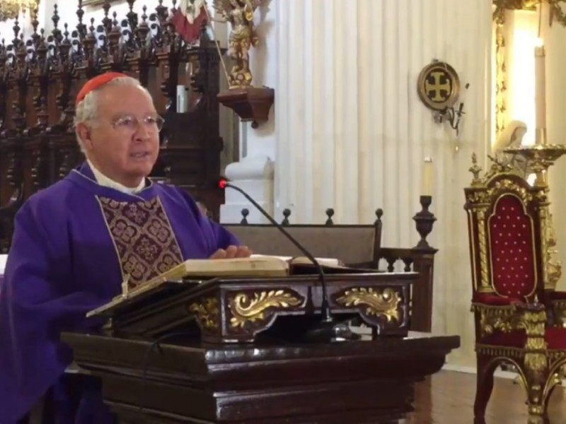 Pide Cardenal evitar aglomeraciones el 12 de diciembre; aumentan contagios