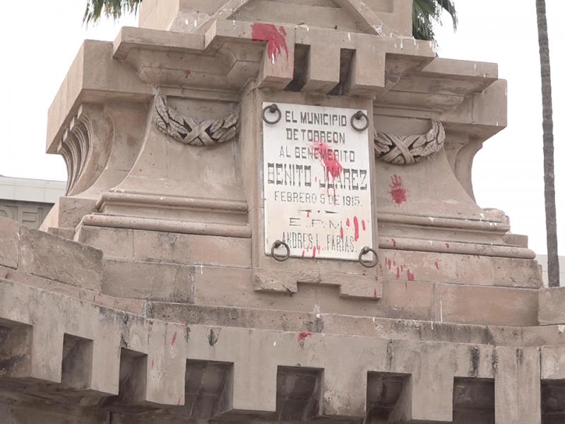 Pide funcionario de Torreón respeto a monumentos