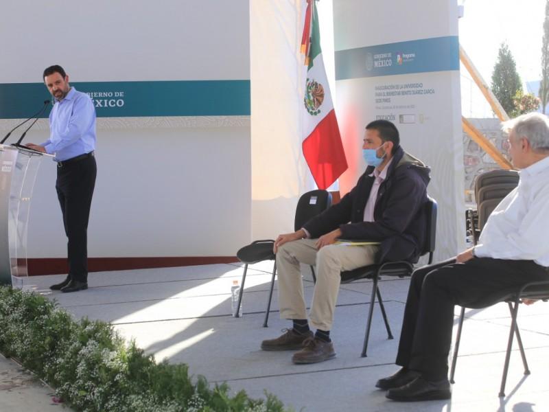 Pide gobernador a AMLO liberación de operación de carretera Zacatecas-Aguascalientes