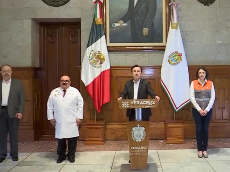 Pide Gobernador de Veracruz no aflojar medidas