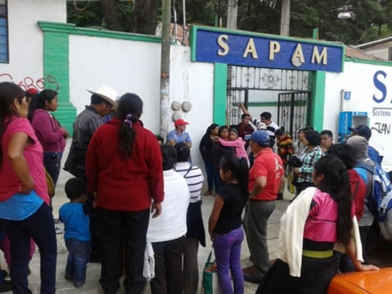 Pide OPEZ condonación de pagos de agua potable en SCLC
