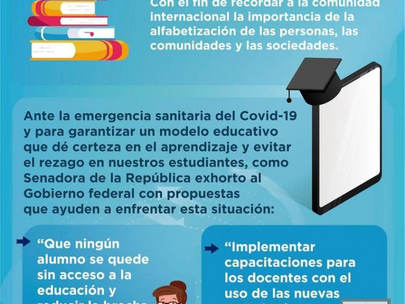 Propone PAN entrega de tablets y material digital a estudiantes