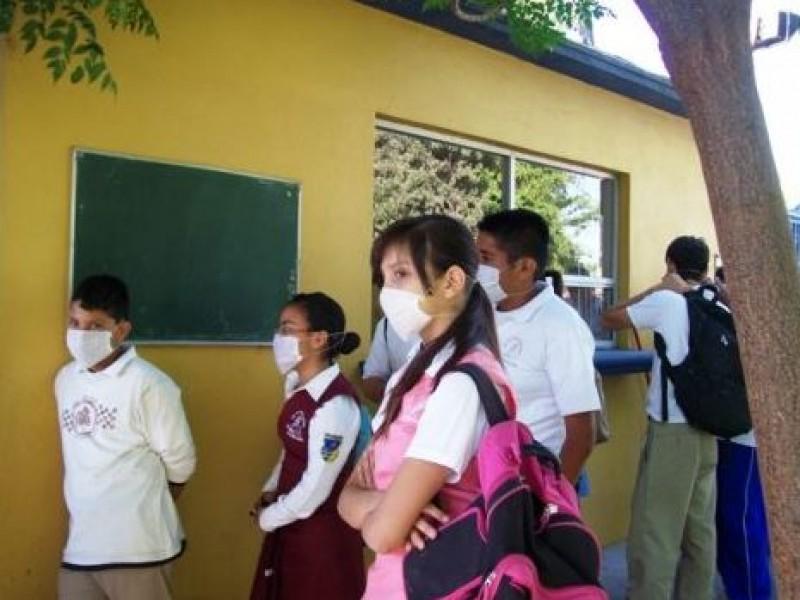 Pide SEJ no acudir a la escuela con enfermedades respiratorias