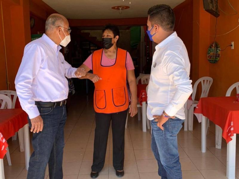 Pide Toño Zapata sumar esfuerzos en Charco Blanco