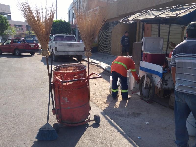 Piden a ciudadanía participar en semana de limpieza