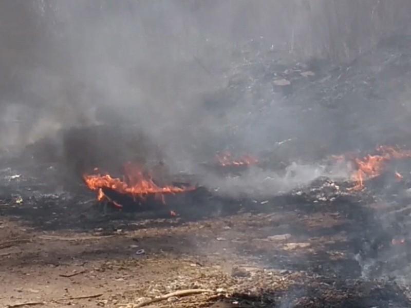 Piden  a ciudadanos evitar quema de basura
