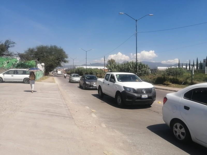 Piden alumbrado en bulevar Vasco de Quiroga y La Luz