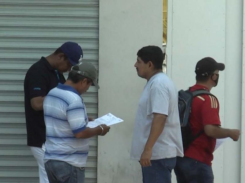 Piden ante Conciliación y Arbitraje, pago de salarios pendientes