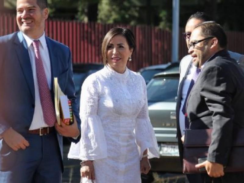 Piden aplazar audiencia de Rosario Robles