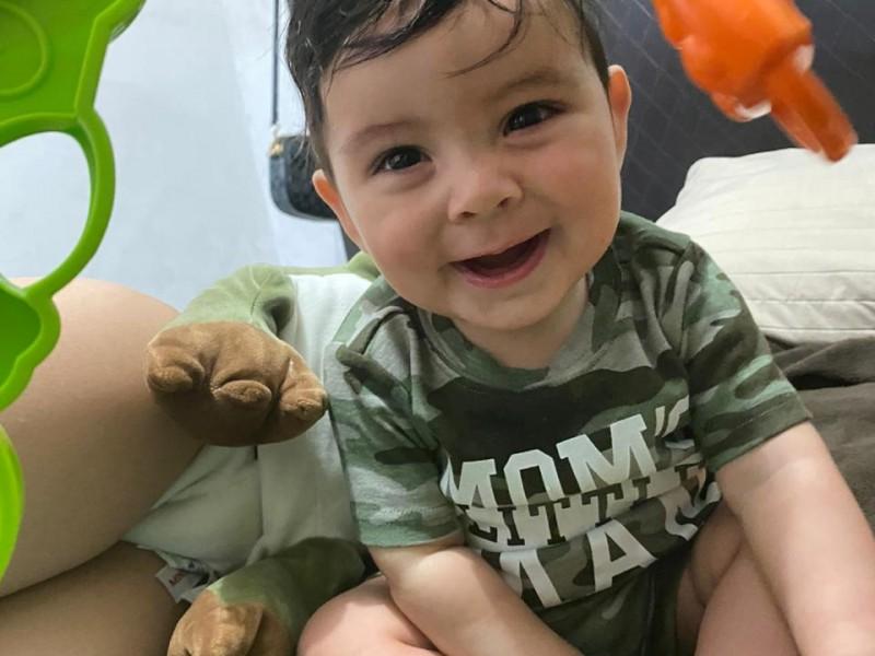 Piden apoyo para cirugía del pequeño Leonel