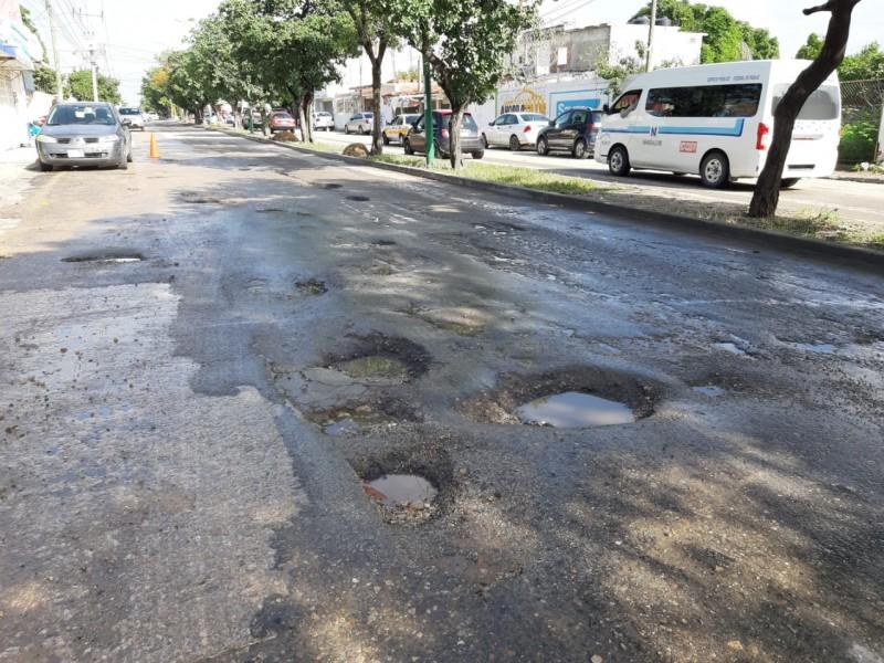Piden atención a condición de las calles en la capital