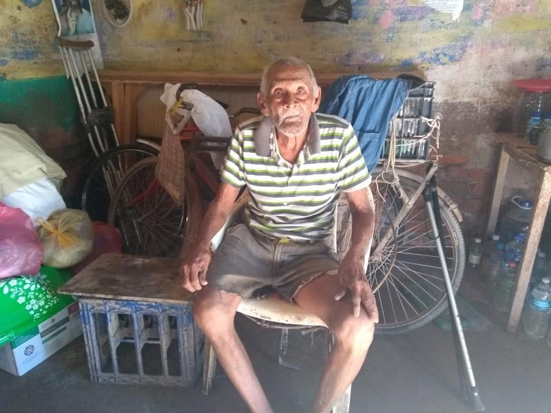 Piden ayuda para octogenario en Tuxpan