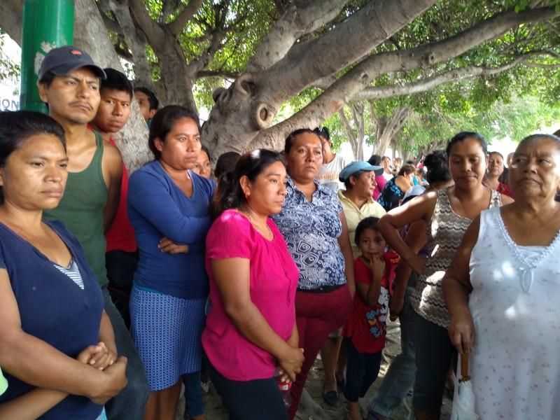 Piden creación de ruta de transporte familias afectadas