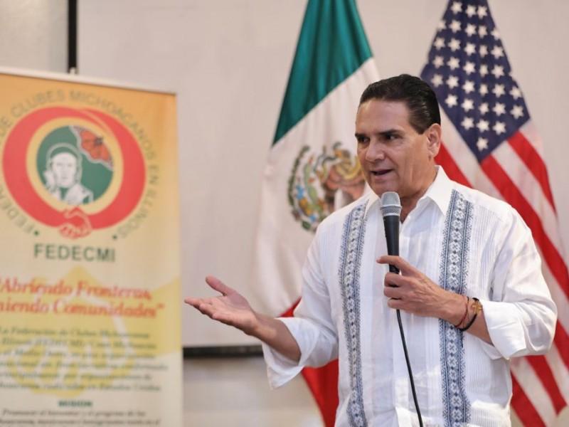Piden juicio político contra Silvano por traición a la patria