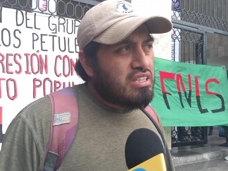 Piden justicia por desaparición forzada FNLS