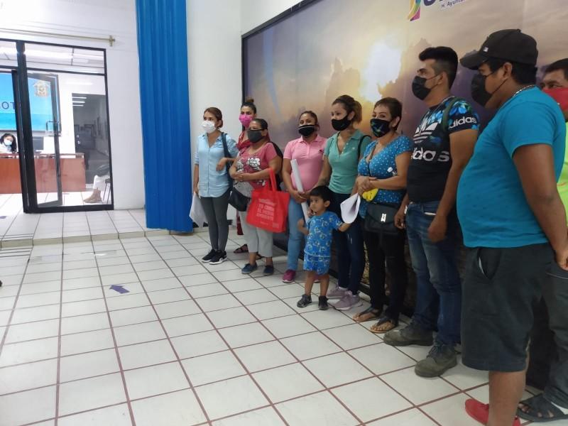 Piden liberación de terrenos en la Fausto Vega