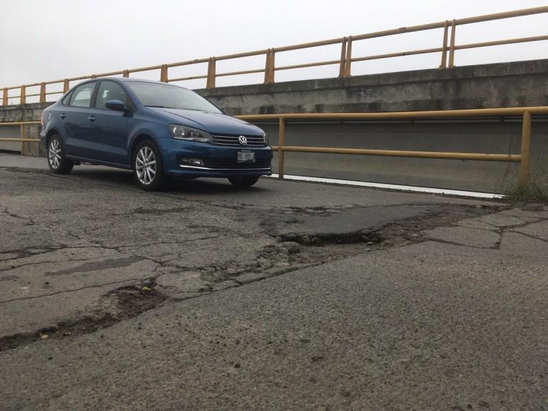 Piden mejora de puente Tampamachoco