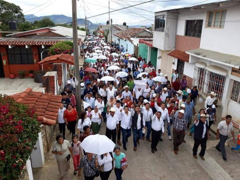 Piden paz en Pueblo Nuevo Solistahuacán