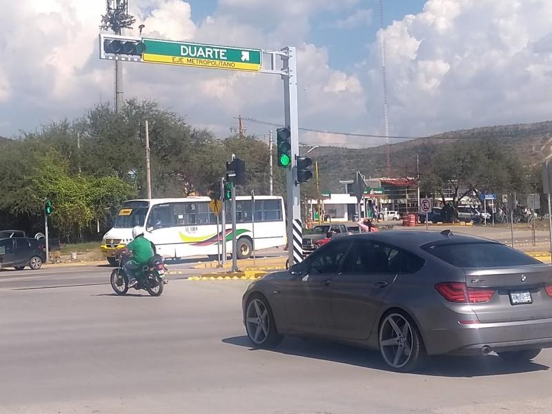 Piden puente peatonal en Eje Metropolitano
