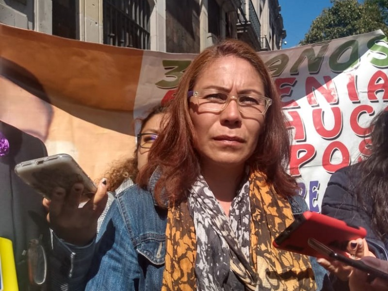 Piden reducir sentencia del homicida de Eugenia Machuca