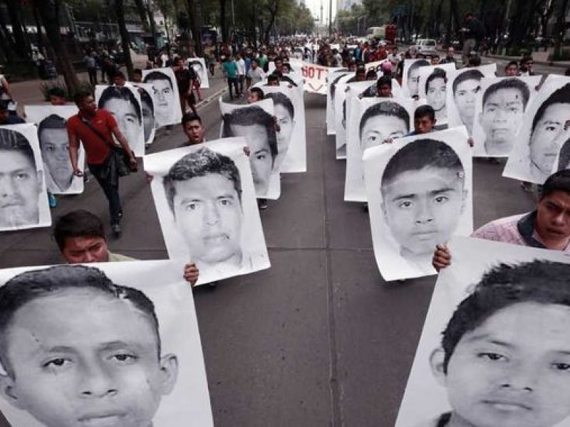 Piden relanzar investigación sobre Ayotzinapa
