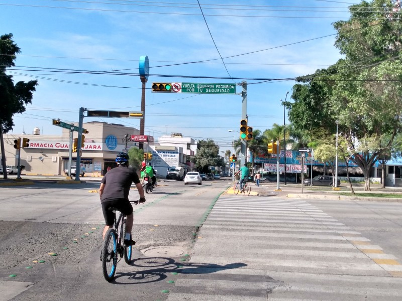 Piden señalamientos en ciclovía de San Jerónimo para evitar accidentes