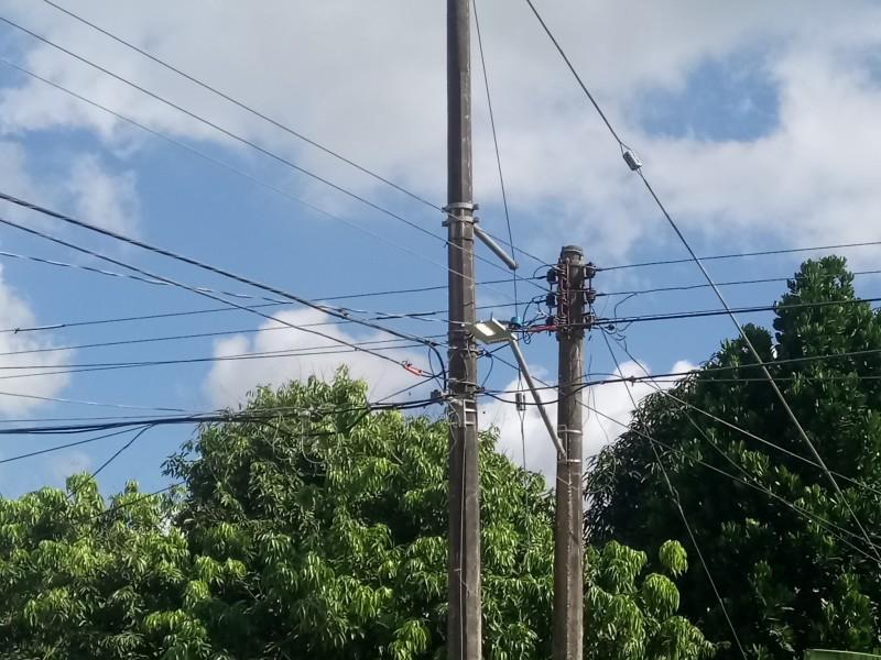 Piden supervisar luminarias para mejorar servicio