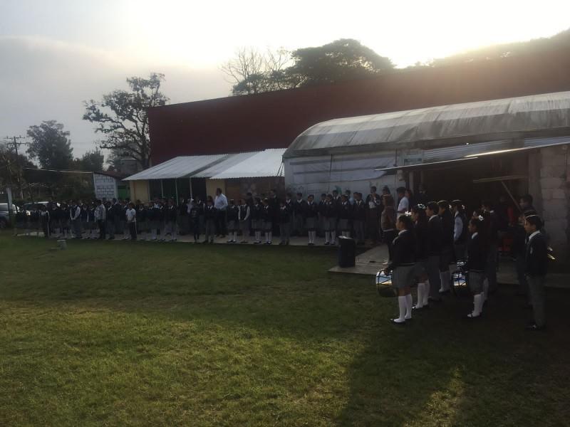 Piden terreno para Telesecundaria Niños Héroes de Coatepec