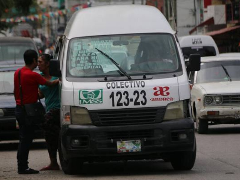 Piden transportistas incremento a la tarifa del pasaje