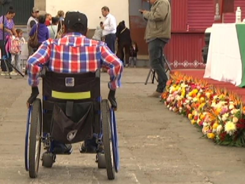 Piden  trato digno para personas con discapacidad