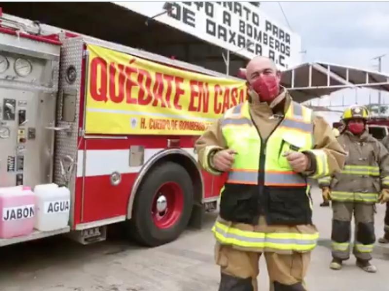 Piden vacunación para cuerpo de bomberos con próximos lotes anticovid