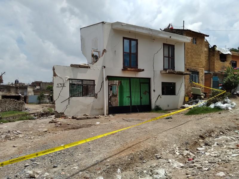 Pierden familias vivienda en Zapopan tras desbordamiento de Arroyo Seco