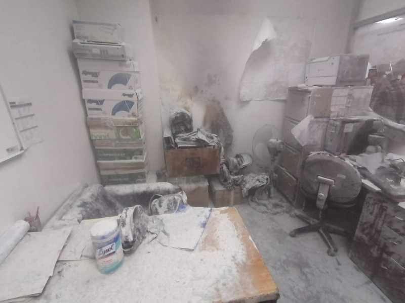 Pierden papeles en Fiscalía por incendio en oficina de investigadores
