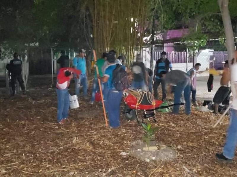 Pierden vecinos parque en el fraccionamiento el bosque