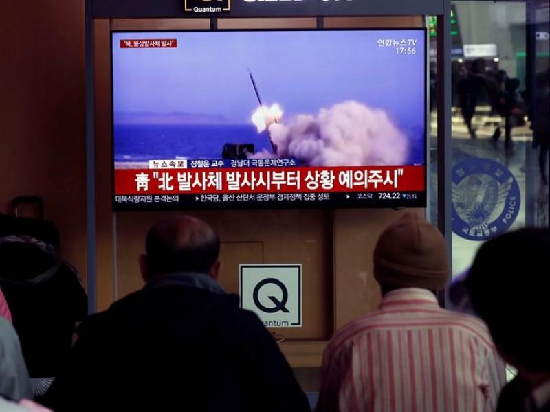 Pionyang dispara misiles de corto alcance