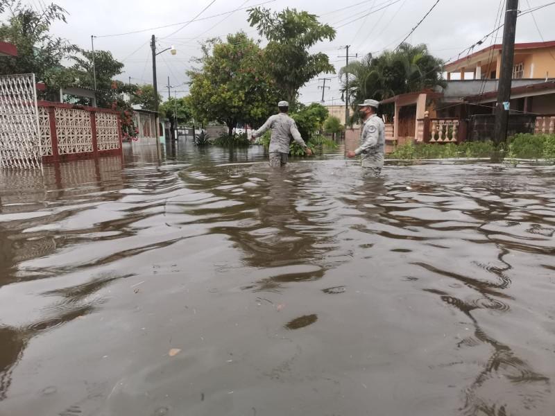 Plan GN-A en Veracruz, tras inundaciones