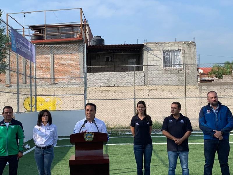 Planean autoridades municipales construcción de polideportivos