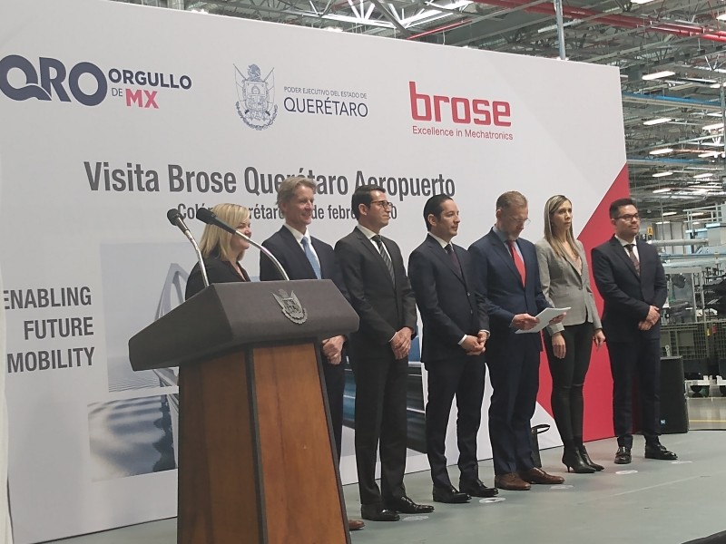 Planta Brose en Colón genera más de mil nuevos empleos