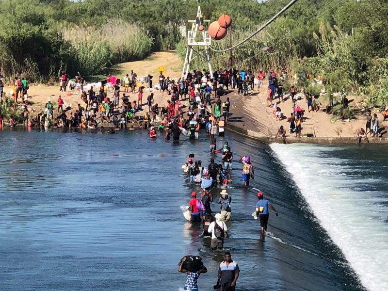 Plantean deportar a migrantes haitianos varados en zona fronteriza coahuilense